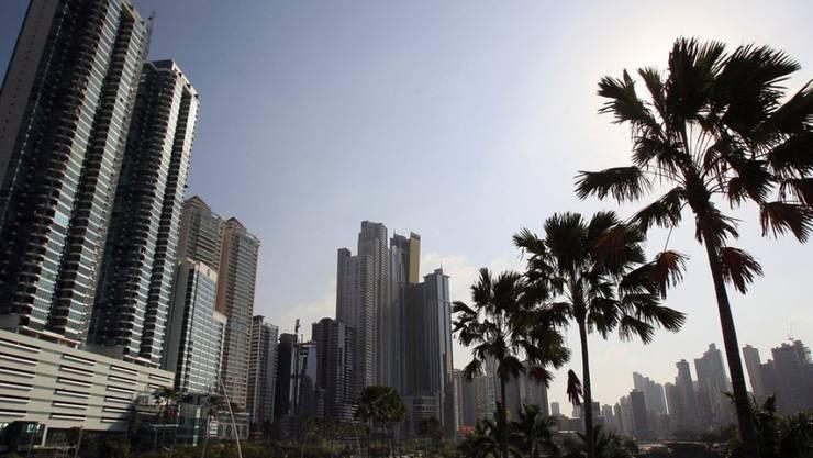 Blick auf Panama City - der Druck auf Steuerparadiese steigt.