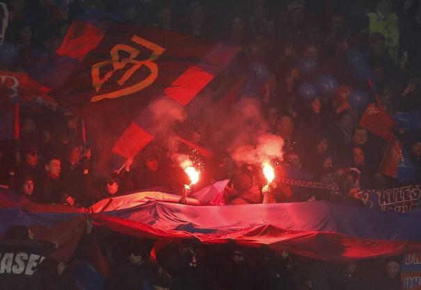 Grenzenlose Freude bei den Basler Fans