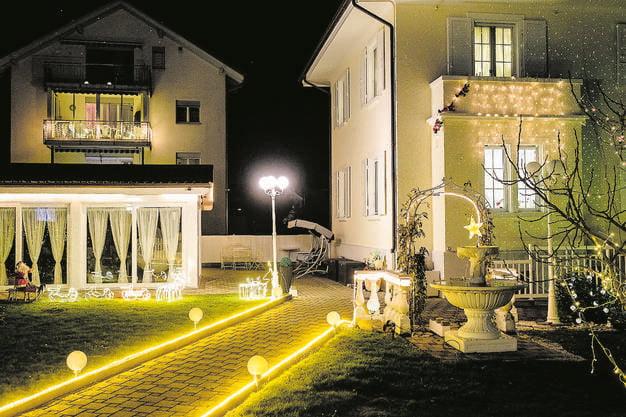 Heller gehts nimmer: Dorfpartie in Frenkendorf.
