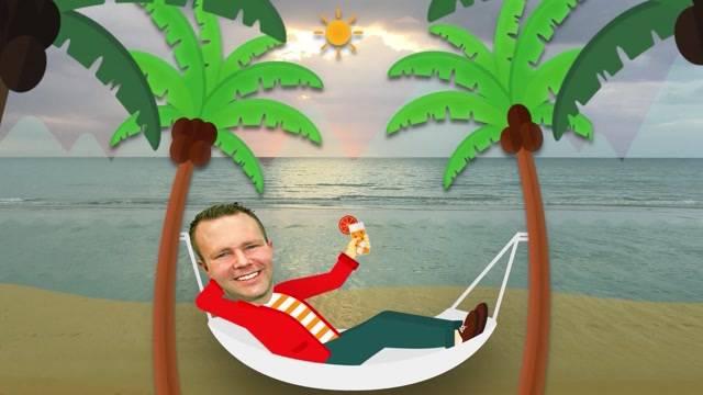 SVP-Präsident verbringt den Wahltag am Strand