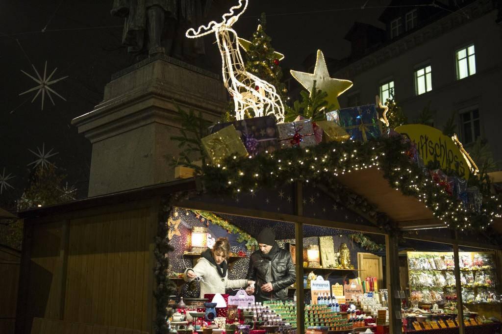 Weihnachtsmarkt St.Gallen (© TAGBLATT/Archiv)