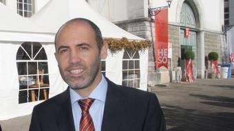 Tobias Jakob ist Präsident der Stadt- und Gewerbevereinigung Solothurn.