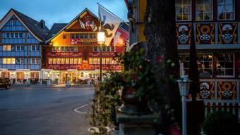 Idylle pur: Der Landsgemeindeplatz in Appenzell ist geschichtsträchtig und lädt zum Verweilen ein.