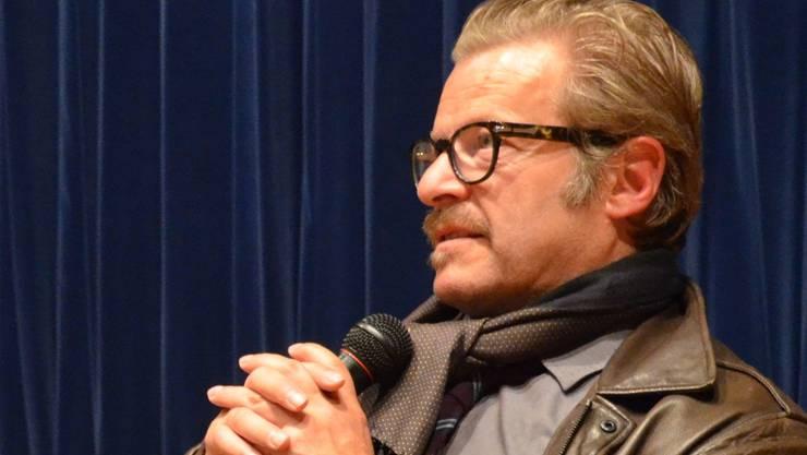 Der Murianer Schauspieler Roland Koch reiste für die «Tatort»-Vorpremiere in sein Heimatdorf. ES