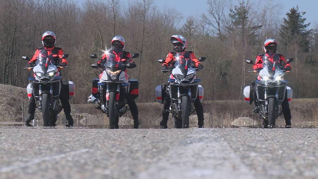 Einsatz auf zwei Rädern: Video-Serie begleitet Kapo Thurgau