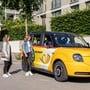 Das London-Taxi von Postauto fährt mit Strom.