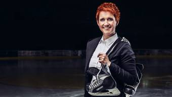 «Ich möchte die Helden feiern!» Steffi Buchli präsentiert ihre Leidenschaft Eishockey künftig auf dem Sender «MySports».
