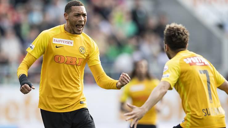 Goalgetter vom Dienst und YB's Titelgarant: Guillaume Hoarau