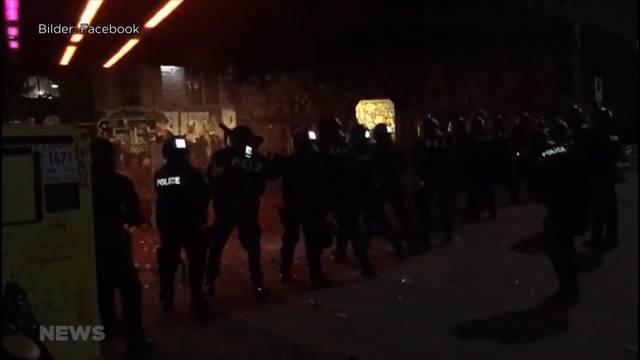 Ausschreitungen Reitschule: Harte Vorwürfe gegen die Polizei