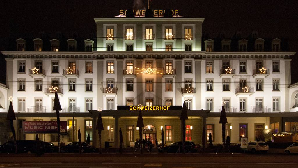 Hotel Schweizerhof Luzern: Hier wird gefeiert