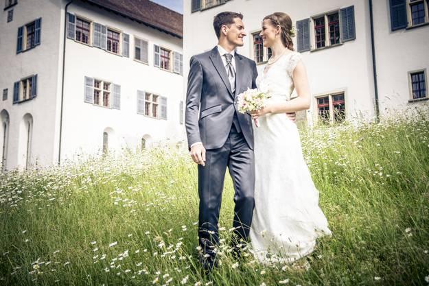 Eliane und Samuel aus Scherz