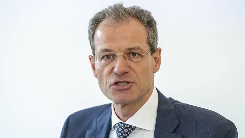 Standesinitiativen, wie jene zum Finanzdatenaustausch im Inland, sind laut dem Luzerner Finanzdirektor Reto Wyss oft wenig ergiebig. (Archivbild)