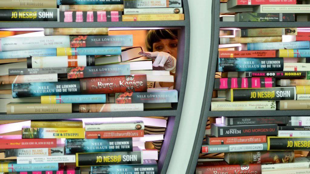 An der Frankfurter Buchmessen sind auch viele Aussteller aus Krisenländern vertreten (Archiv)