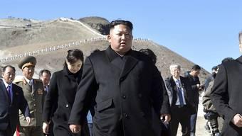 Nach einem gemeinsamen Besuch auf dem als heilig verehrten Vulkan Paektu beendeten Kim und Südkoreas Präsident am Donnerstag ihren dritten Gipfel in diesem Jahr.