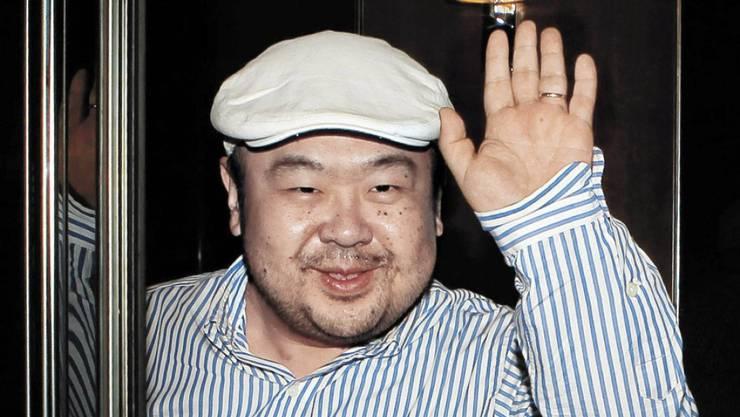 Kim Jong Nam, der Halbbruder des nordkoreanischen Machthabers Kim Jong Un, im Jahr 2010.