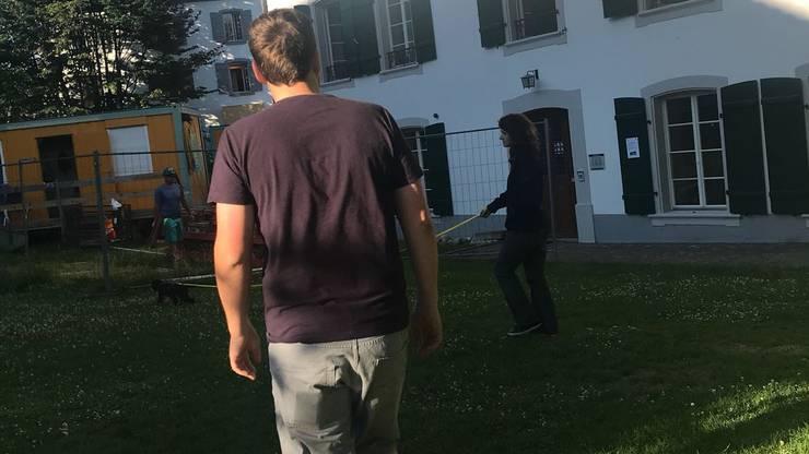 Die Suche startet in Aarau. Die Stadt hat niemand verlassen, um den