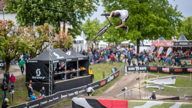 Dirtjump an den Bike Days 2019