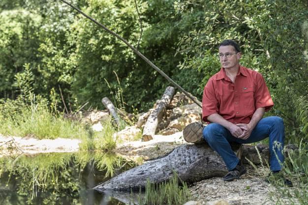 Er ist seit 46 Jahren im Naturschutz aktiv.