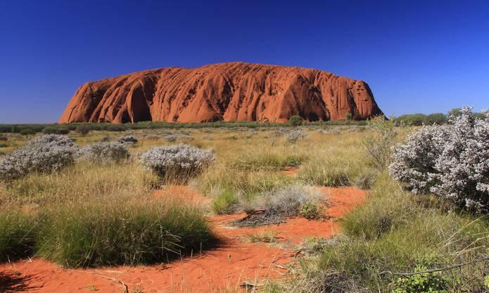 Das Wahrzeichen Australiens, Ayers Rock