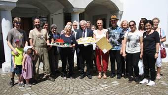 Der Quartierverein Weststadt hat am Dienstag gleich zwei Petitionen abgegeben.