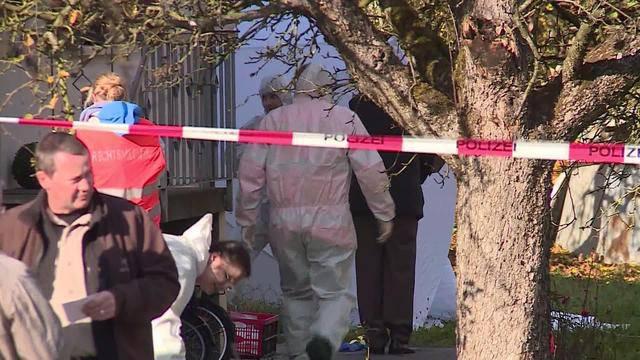 Familiendrama in Gipf-Oberfrick: Ein afghanischer Asylbewerber ersticht seine Ehefrau. (Tele M1, 4.11.2015)