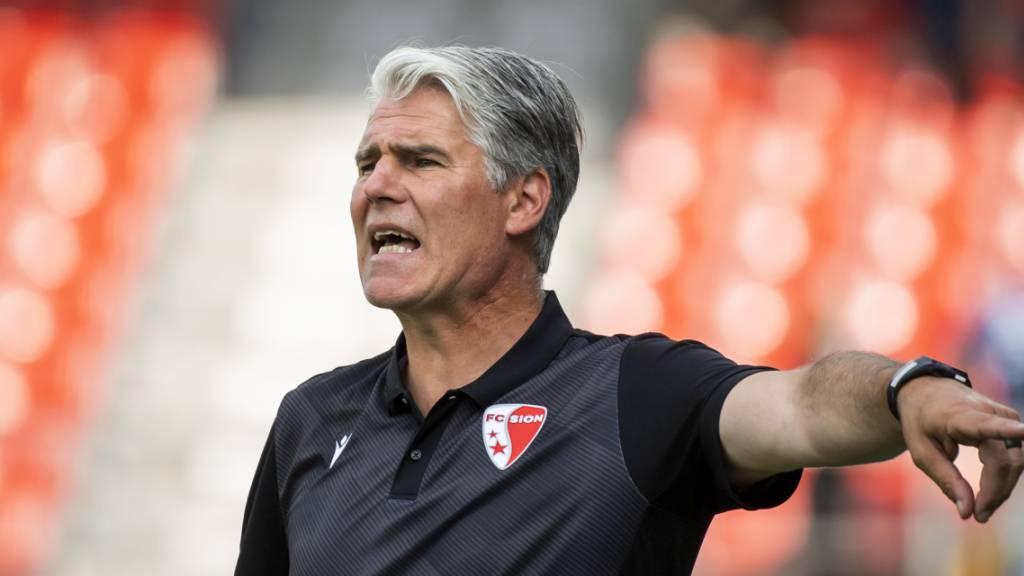 Sion-Trainer Walker: «Wir haben unseren Job nicht gemacht»