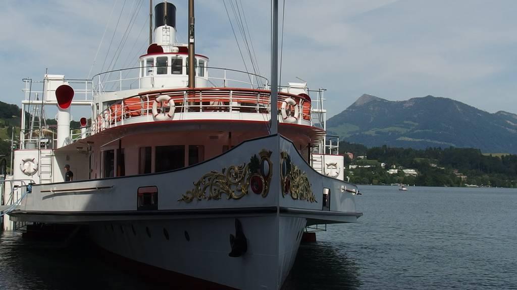 Unterwegs mit dem Dampfschiff Stadt Luzern
