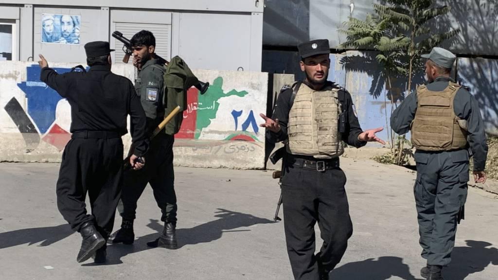 Mindestens 22 Tote bei Angriff auf Universitätsgelände in Kabul