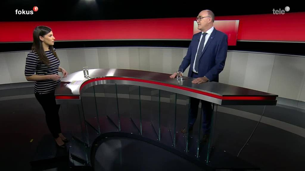 Martin Pfister, Gesundheitsdirektor vom Kanton Zug