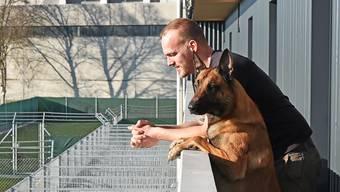 Seit zwei Jahren führt Piet Umiker die Tierpension. Die Plätze sind fast immer ausgebucht.