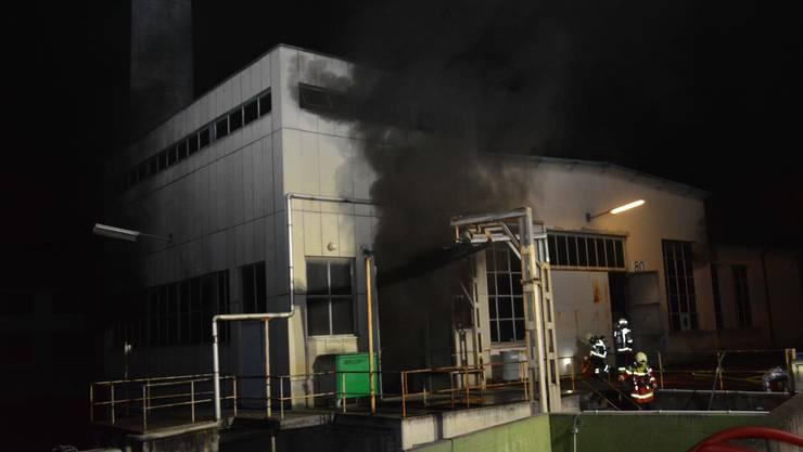 Der Brand im Dornacher Industriebetrieb wurde von einem technischen Defekt ausgelöst.