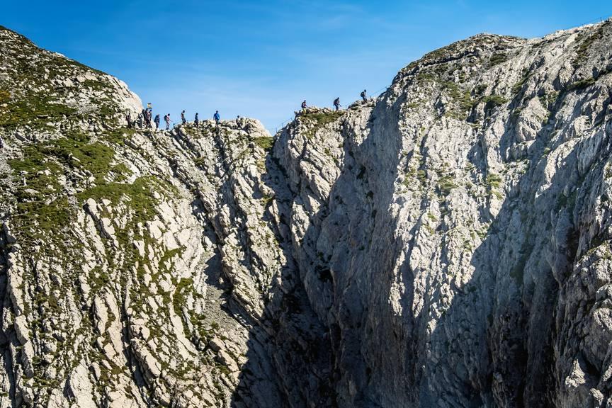 Eine Wanderung durch den Alpstein: Diese Woche ist das Wetter dafür perfekt geeignet. (Bild: Michel Canonica / Tagblatt)