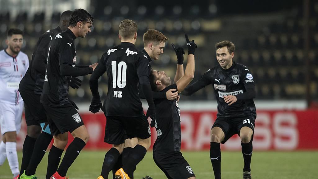 GC gewinnt dank einem Goalie-Fehler in Aarau