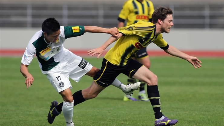 Die Old Boys gerieten gegen YF Juventus Zürich in der Schlussphase ins straucheln.
