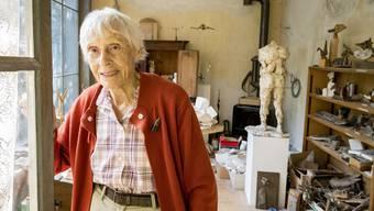 Bildhauerin Helen Balmer