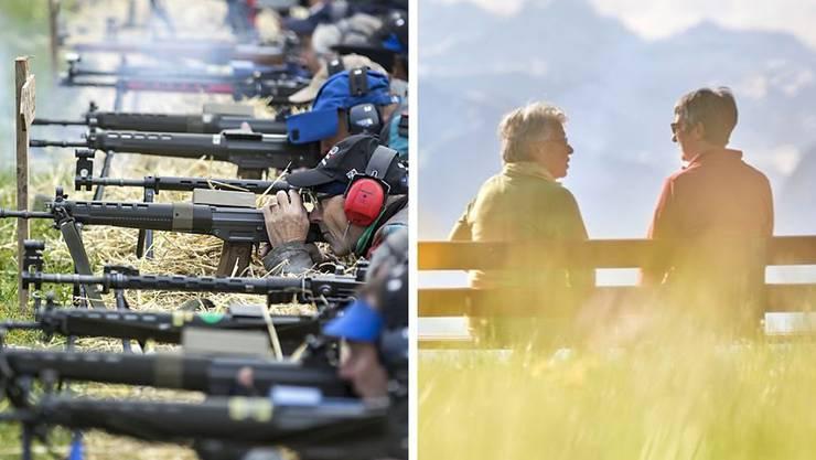 Am Sonntag stimmte die Schweiz über das Waffenrecht und den AHV-Steuer-Deal ab.