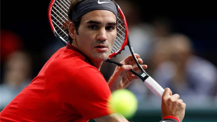 Roger Federer hat die World Tour Finals im Blick.