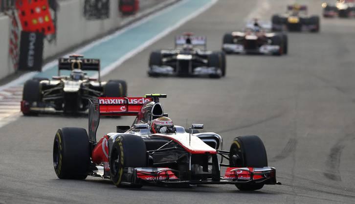 Hamilton noch vor Räikkönen