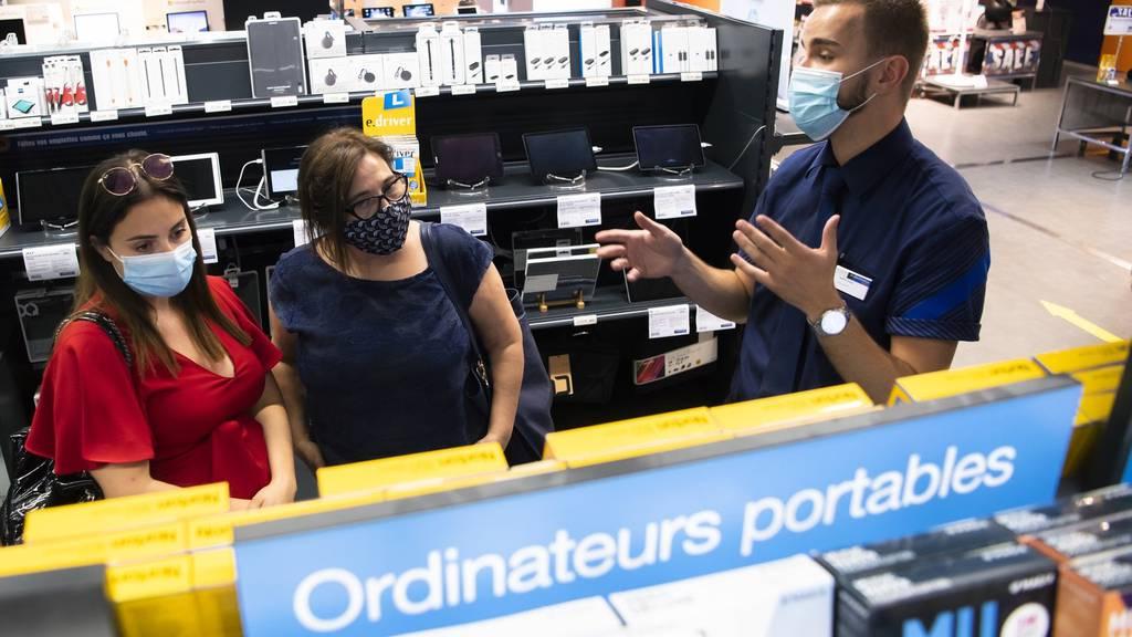 In 2 Kantonen gilt Maskenpflicht in Geschäften: Das hat's gebracht
