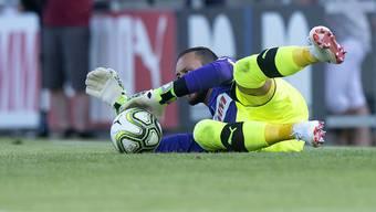 Von Basel via die Grasshoppers zu Luzern - immerhin ein Testspiel (gegen Aarau) bestritt Mirko Salvi mit den Grasshoppers