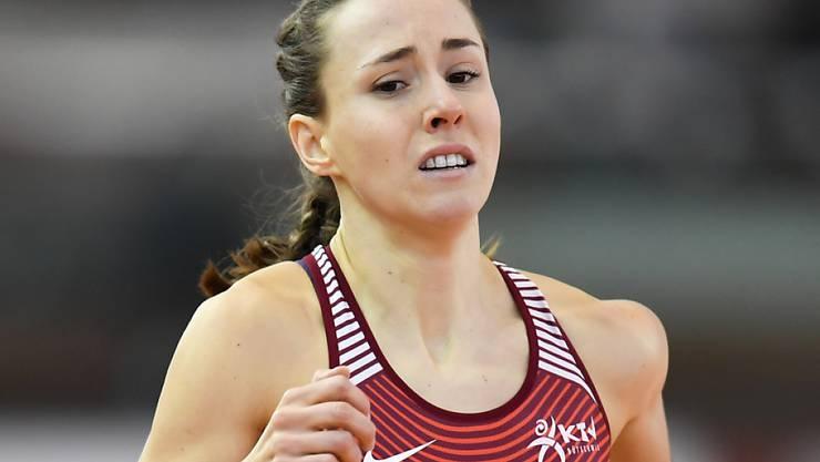 Selina Büchel kann über 800 m zum dritten Mal in Serie Hallen-Europameisterin werden