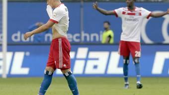 Ende der Bundesliga-Tradition: Der HSV (mit Bobby Wood) steigt erstmals ab