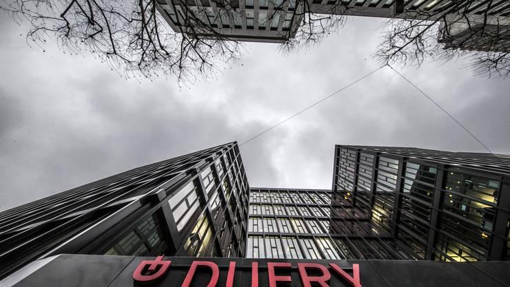 Darf sein Aktienkapital erhöhen: Der Hauptsitz des weltweit tätigen Reise-Detailhändlers Dufry in Basel. (Archivbild)