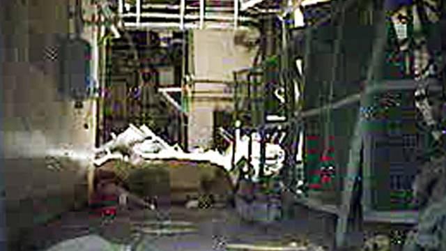 Blick in den Reaktor 3 in Fukushima (AP Photo/Tepco)