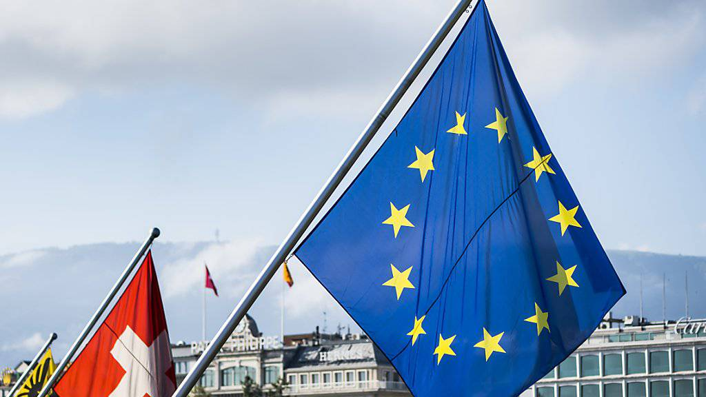 Regelmässig wiederkehrendes Thema in den ausländischen Medien sind 2018 die Verhandlungen zwischen Bern und Brüssel über ein Rahmenabkommen gewesen. (Themenbild)