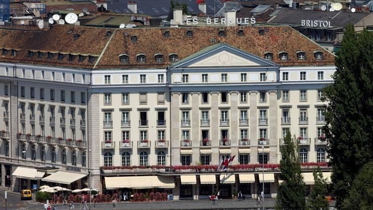 Hotelübernachtungen sind in Genf und Zürich in einem Europavergleich besonders teuer. (Archiv)