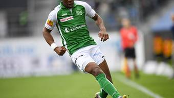 Matchwinner in Neuenburg: St. Gallens Dereck Kutesa