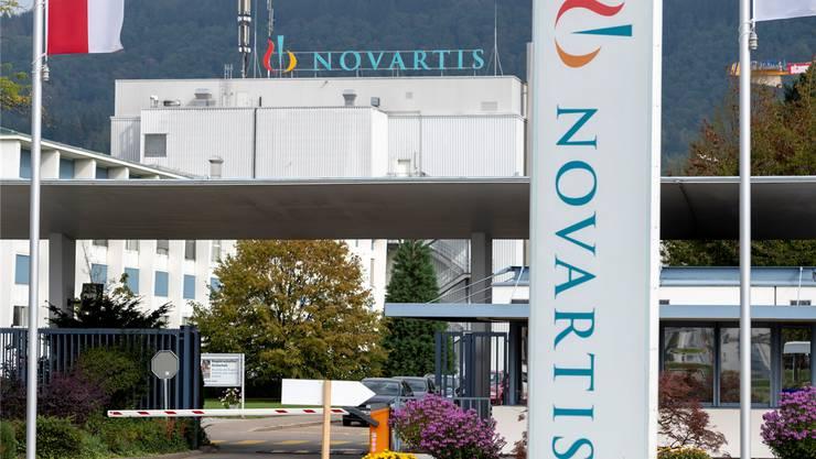 Im Novartis-Werk in Stein werden 700 Stellen abgebaut. Keystone
