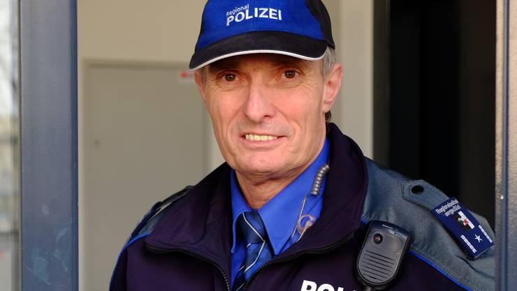 Repol-Chef Dieter Holliger freut sich auch nach über 30 Jahren Dienst noch über jede geklärte Straftat.