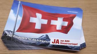 Am 19. Mai stimmten die Stimmbürgerinnen und Stimmbürger für die AHV-Steuervorlage. (Symbolbild)